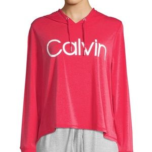 Calvin Klein Performance Hooded Logo Sweatshirt